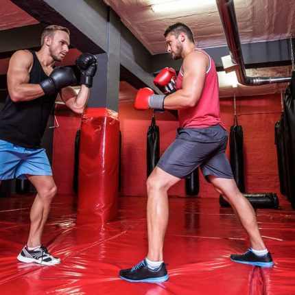 Boxing Training Session